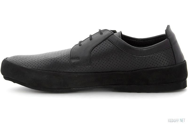 Туфлі Subway 2533 Чорна шкіра
