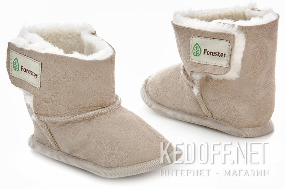 Детские угги Forester 143101-2813   (бежевый) купить Украина