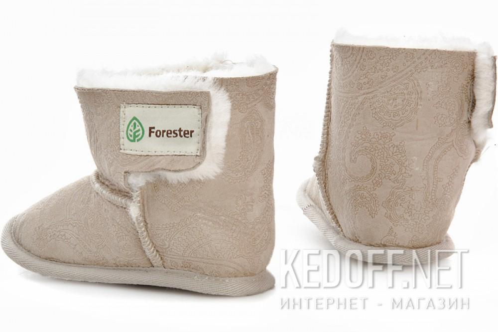 Детские угги Forester 143101-2813   (бежевый) купить Киев