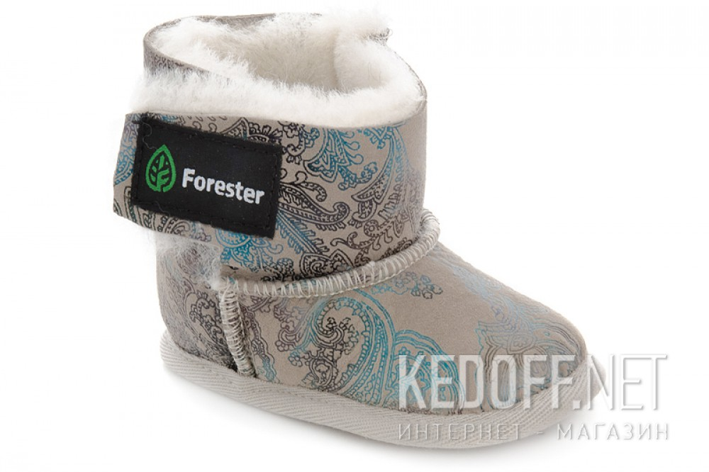 Детские угги Forester 143101-2814 Натуральная овчина
