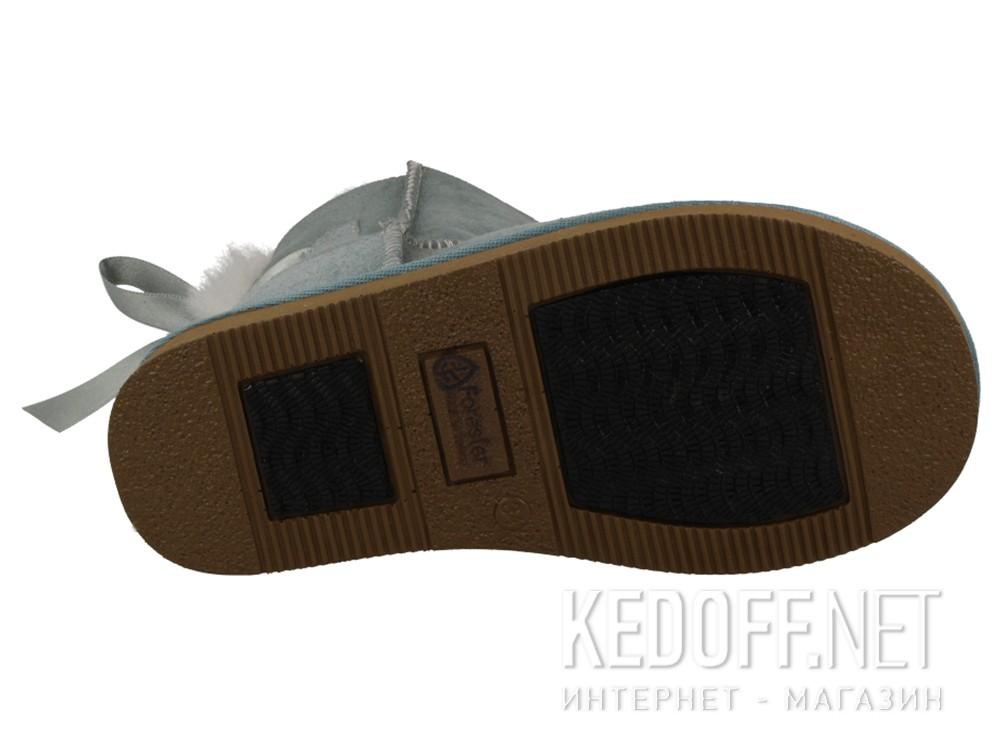 Угги Forester 121014-1053 унисекс   (мятный) описание