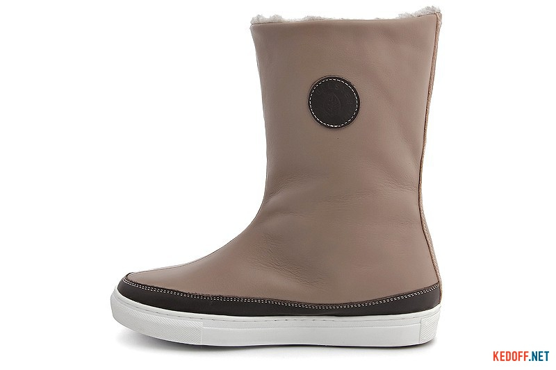 Winter sneakers Forester 8530-18Sk Beige leather