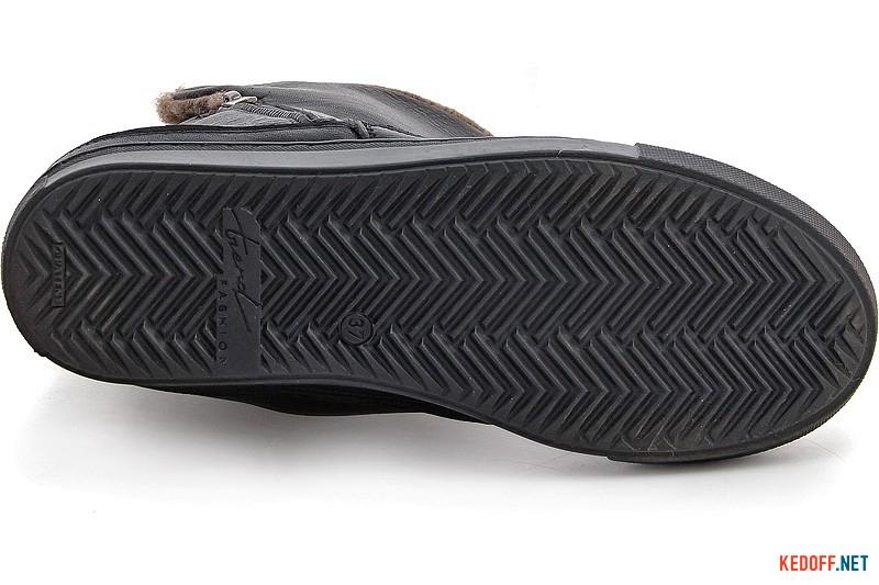 Утеплені чобітки Forester 8530-272Ks Чорна шкіра