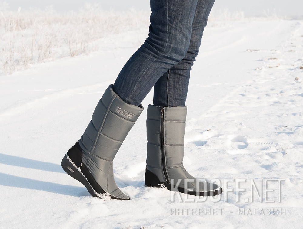 Winter boots Forester 1442-37 Light Grey