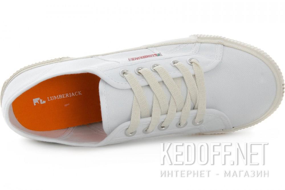 Оригинальные Полукеды Lumberjack 4151-03-C01R-1 унисекс   (белый)