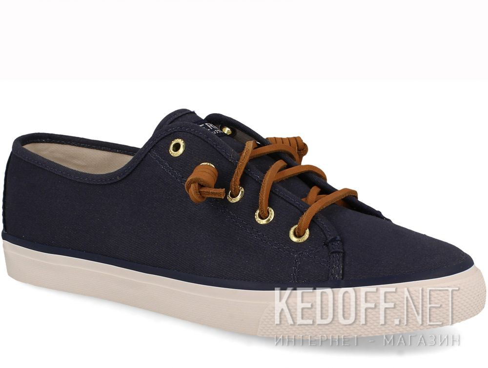 Вансы Sperry Top-Sider SEACOAST CANVAS SP-90550 унисекс   (синий)