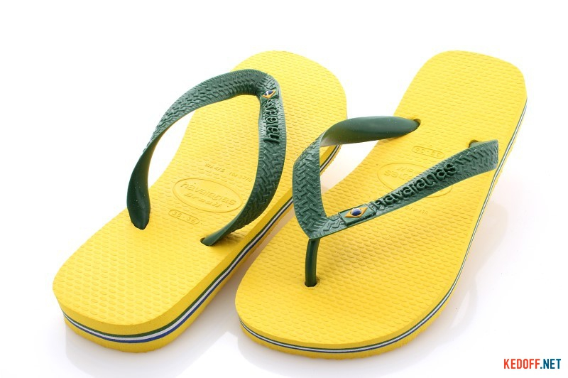 Вьетнамки HAVAIANAS Flip-Flop Yellow 2197