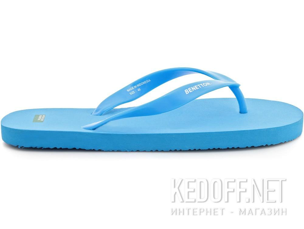 Вьетнамки летние  Benetton 601-1 Светлосиние