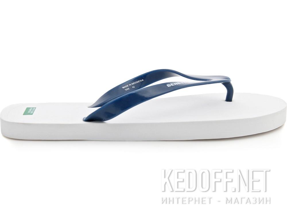 Вьетнамки Benetton 602 унисекс   (синий/белый) купить Киев