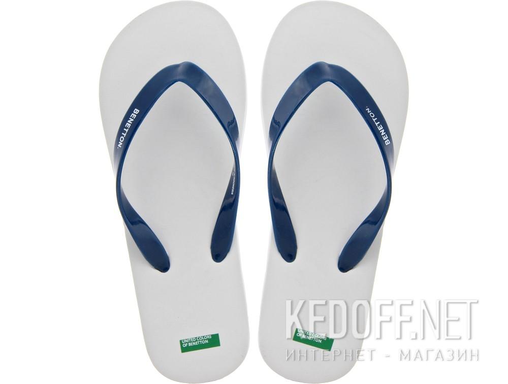 Купить Вьетнамки Benetton 602 унисекс   (синий/белый)