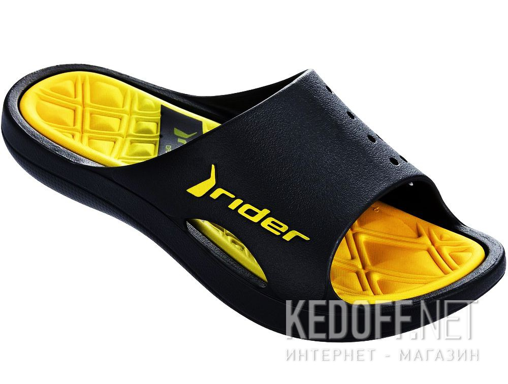 Купить Вьетнамки Rider Bay VI AD 81901-24209 унисекс   (чёрный/жёлтый)