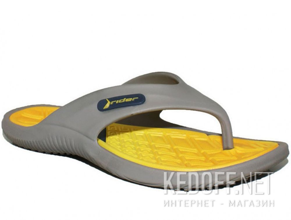 Купить Вьетнамки Rider Cape X 81900-24209 Made in Brasil унисекс   (жёлтый/серый)