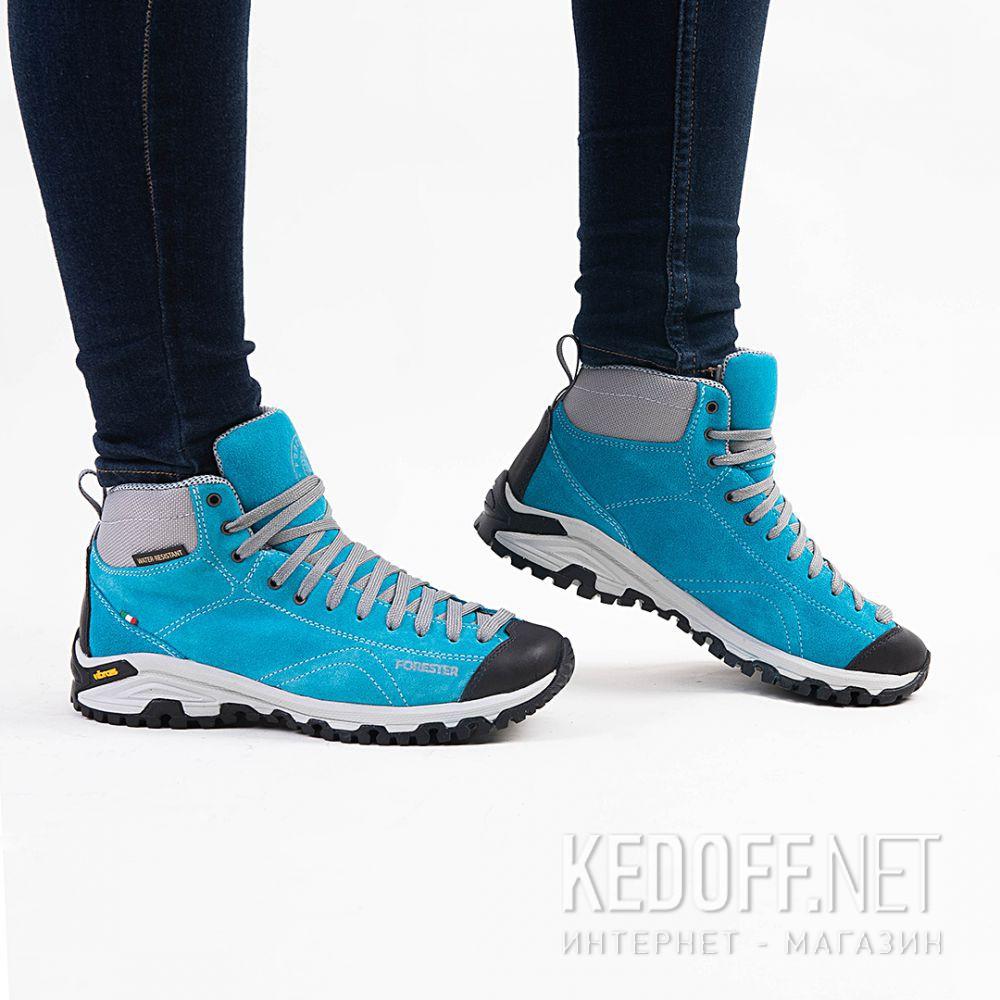 Замшевые ботинки Forester Blue Vibram 247951-40 Made in Italy все размеры
