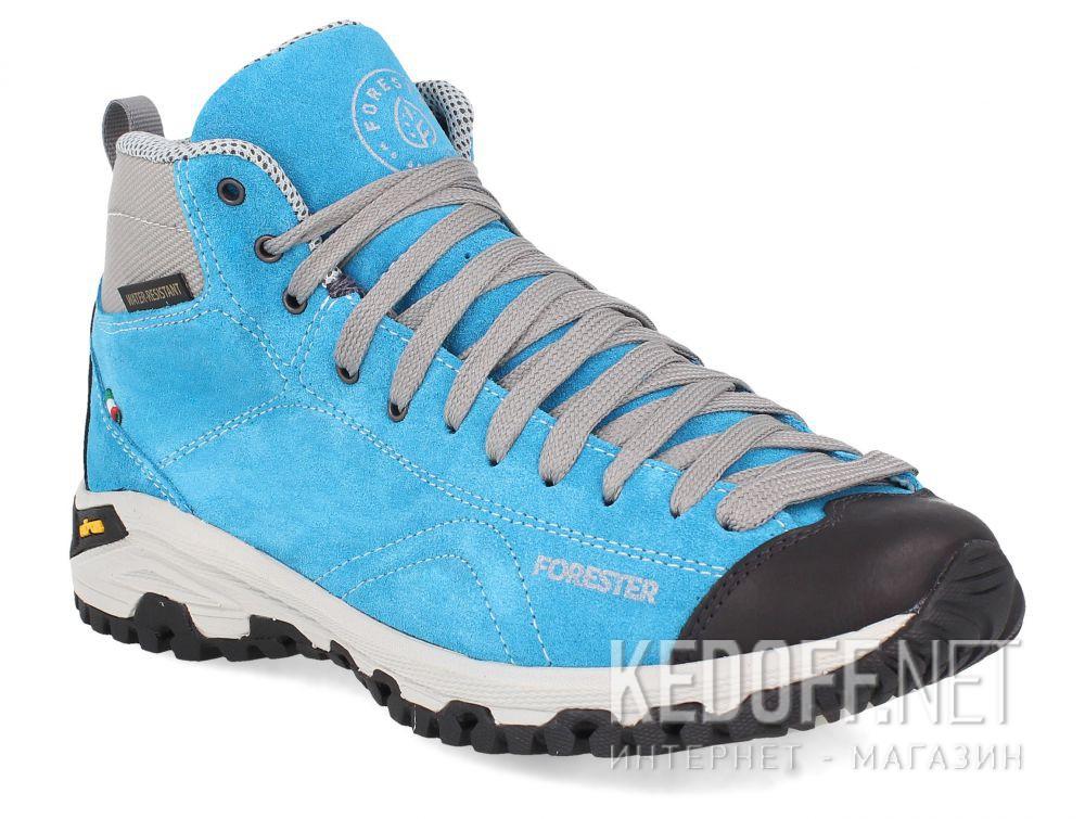 Купить Замшевые ботинки Forester Blue Vibram 247951-40 Made in Italy