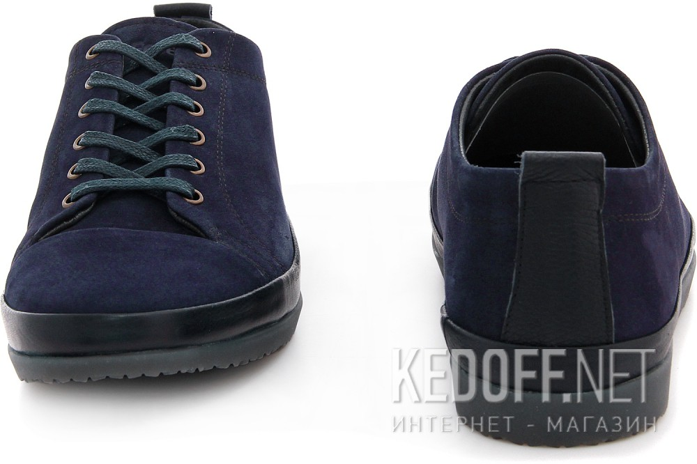 Blue suede shoes Forester Navy 1607-891