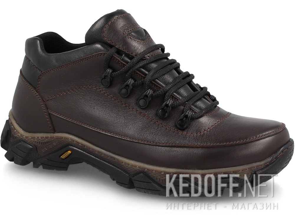 Winter boots Forester Trek 4743-107 Dark brown, Genuine leather