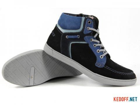 Мужские ботинки Subway 16607-145 На натуральном меху