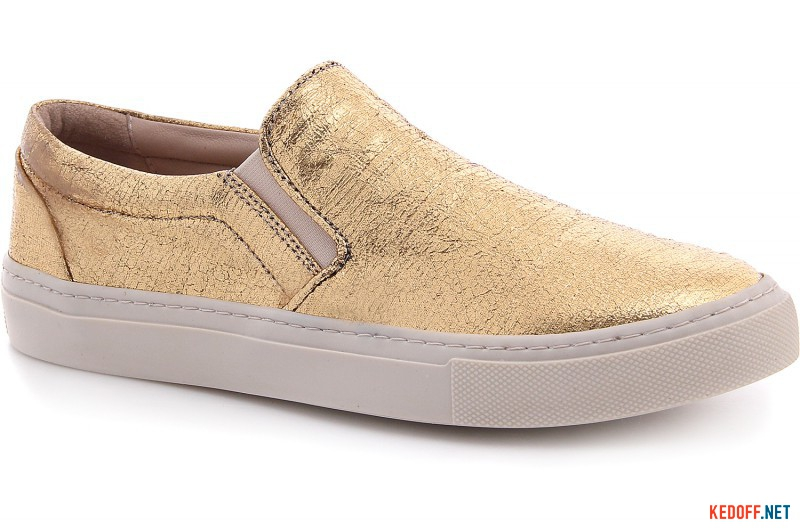 Slipons Las Espadrillas fabric Golden 557115-9248