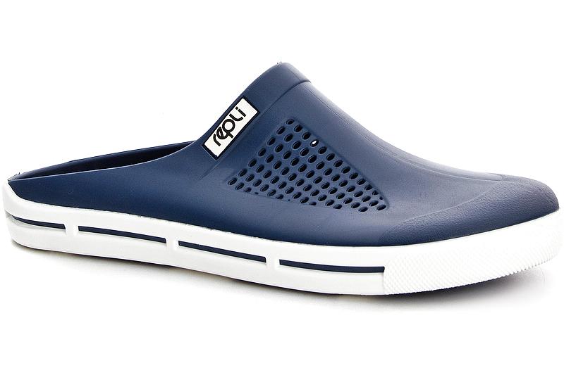 Купить со скидкой Мужские сабо Coral Coast 77085 Made in Italy синий