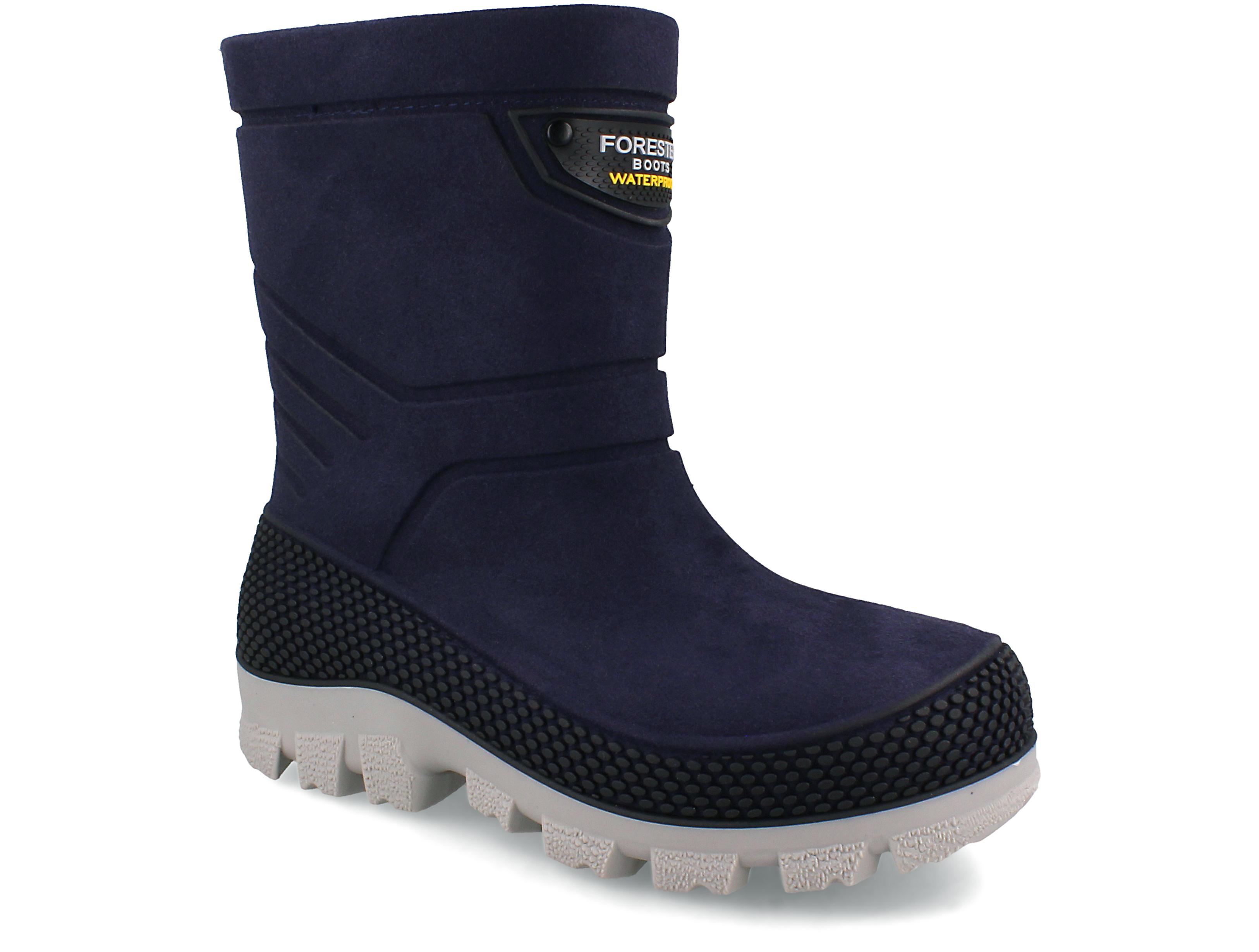 Купить со скидкой Детские зимние сапоги Forester Waterproof 724104-89