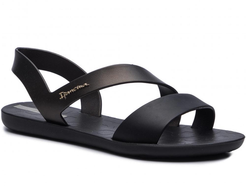 Купить Женские сандалии Ipanema Vibe Sandal 82429-21112 Made in Brasil, Rider, Чёрный