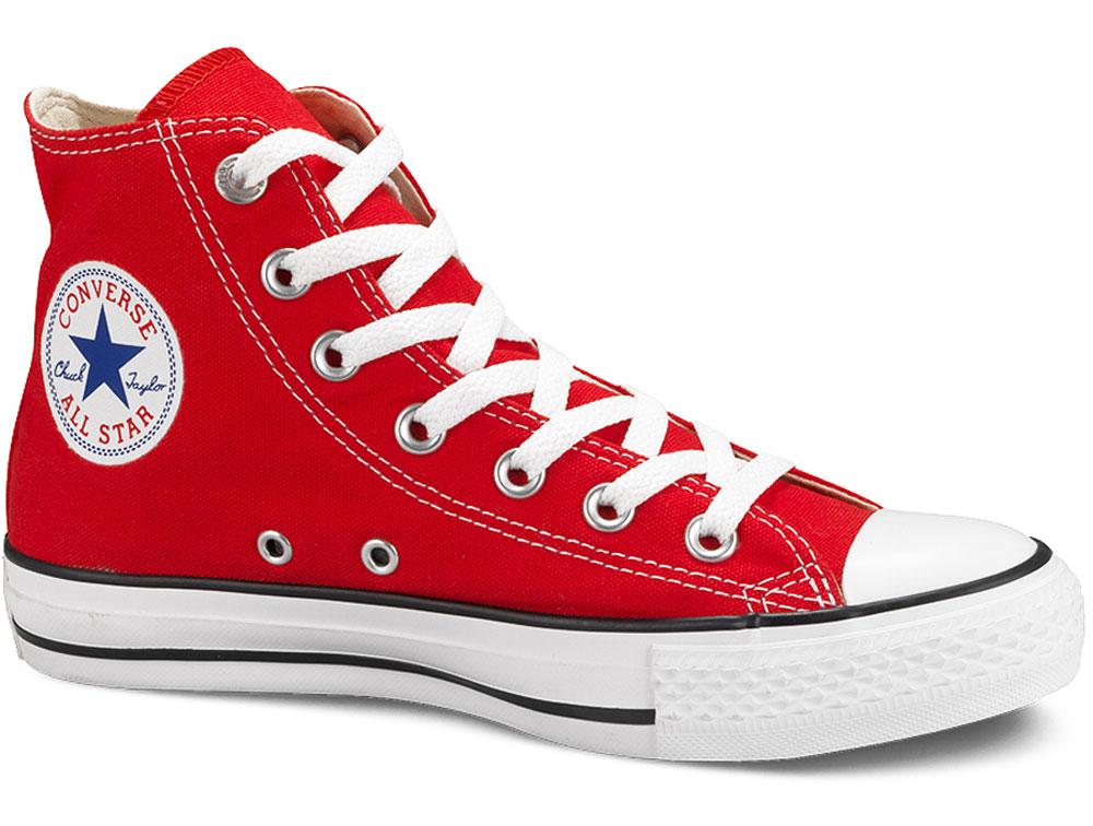 Фото #1: Кеды Converse Chuck Taylor All Star Hi M9621 унисекс красный