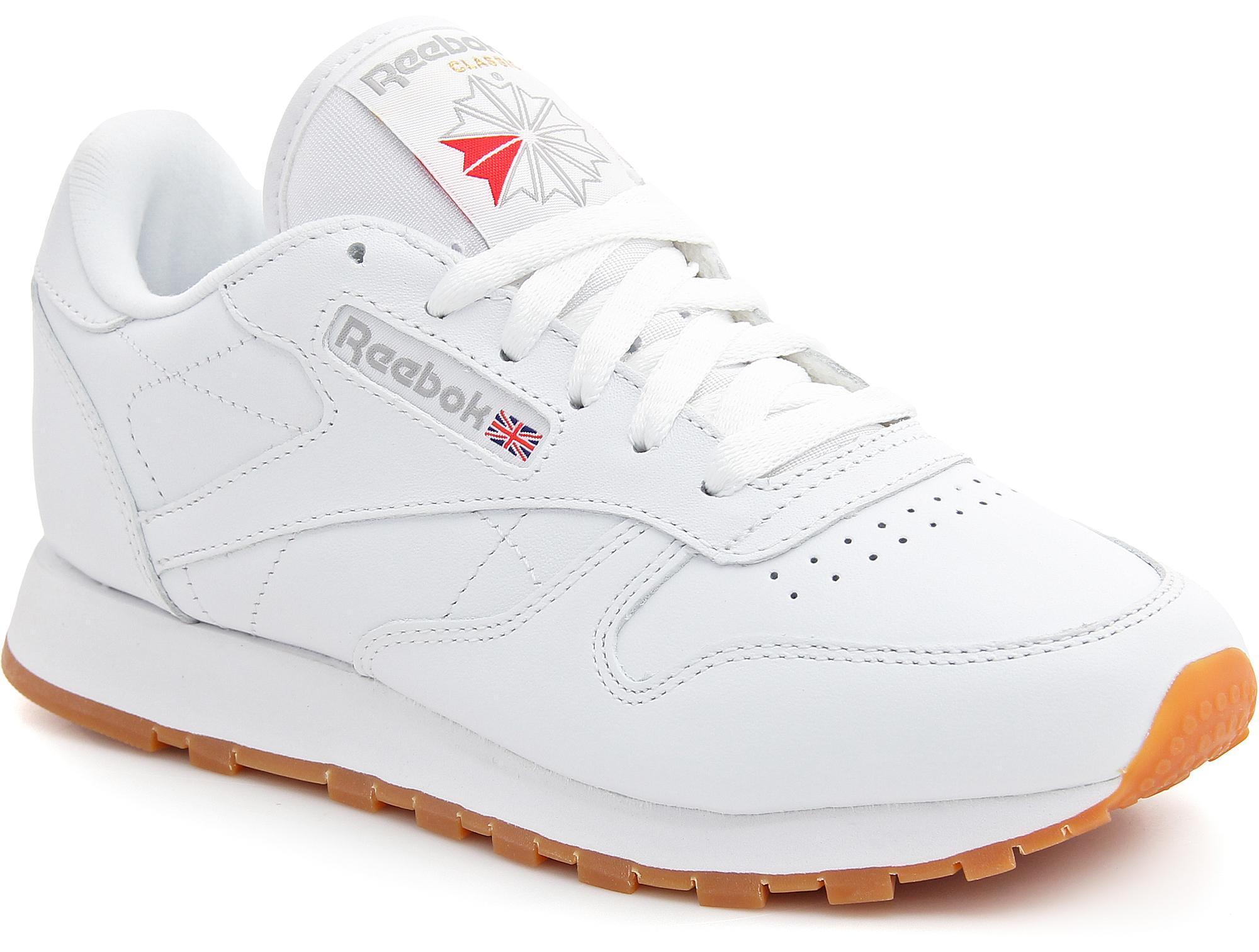 Купить со скидкой Кроссовки Reebok Classic Leather 49803 White