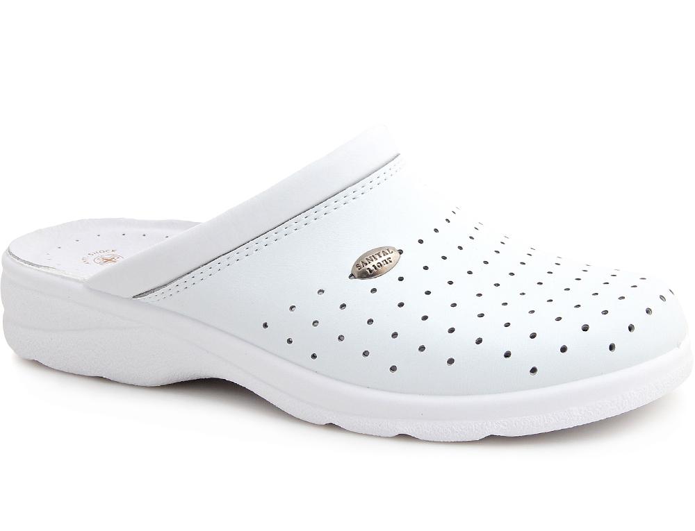 Купить со скидкой Мужская медицинская обувь Sanital Light 1750-13 белый