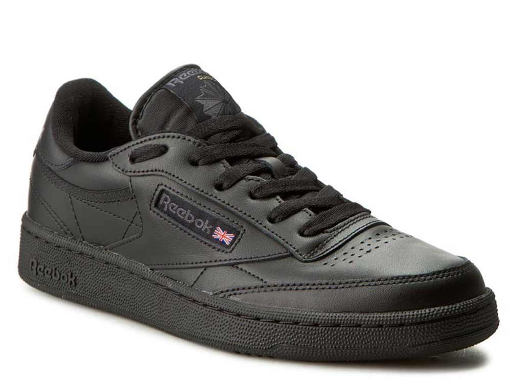 Купить со скидкой Мужские кроссовки Reebok Club C 85 AR0454 BlackCharcoal