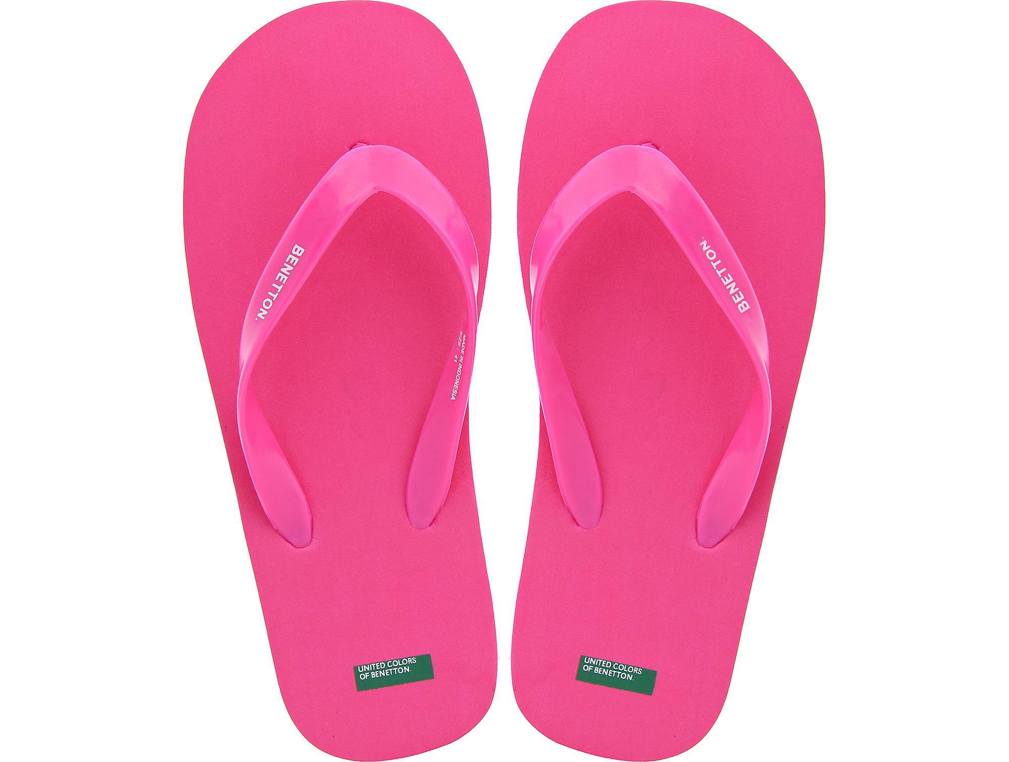 Купить со скидкой Пляжная обувь United Colours of Benetton 603 розовый