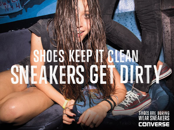 Converse Dirty Advertisement 2013