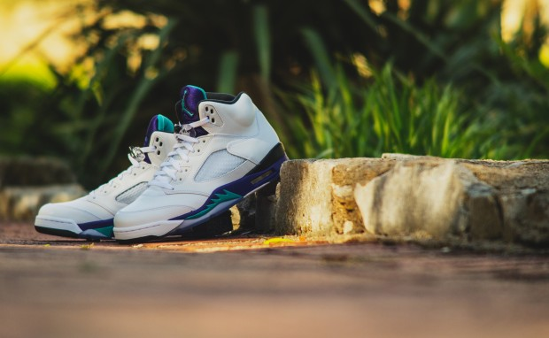 "AIR JORDAN 5 RETRO ""GRAPE"""
