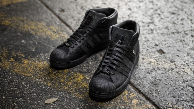 "BIG SEAN X ADIDAS ORIGINALS PRO MODEL II ""ALL-BLACK"""