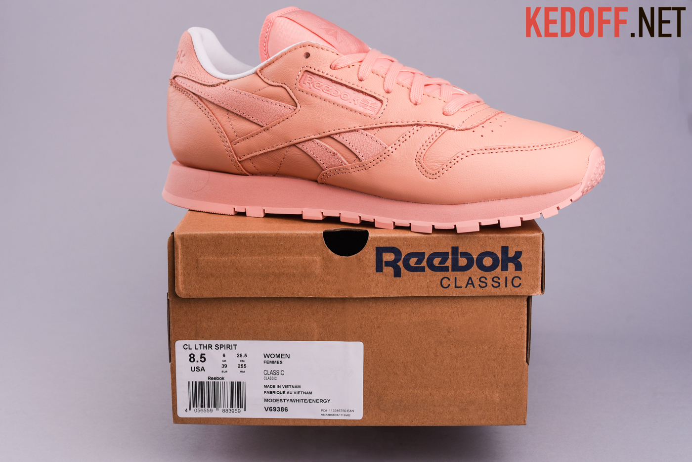 Кроссовки Reebok Classic Leather Face Stockholm V69386
