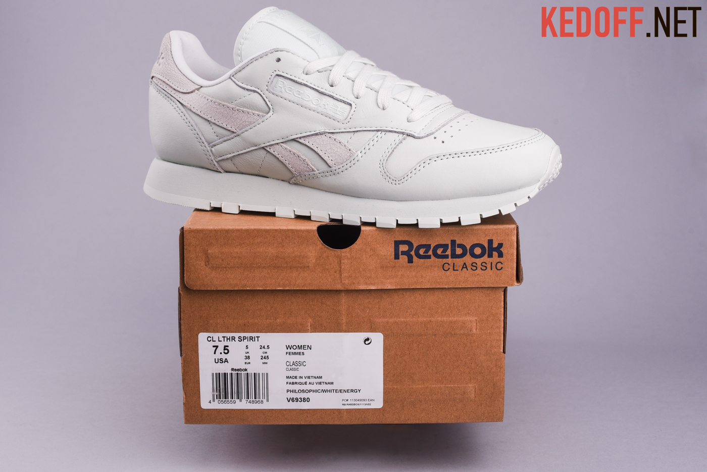Кроссовки Reebok Classic Leather Face Stockholm V69380