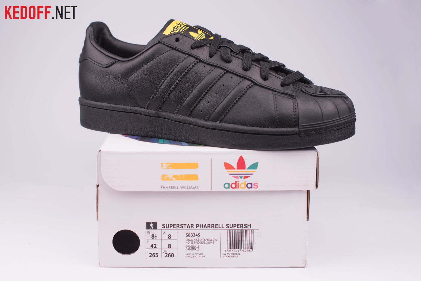 Adidas Superstar Pharrell Williams Supershell S83345