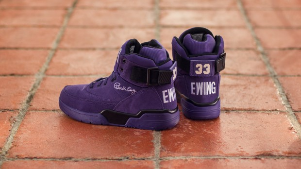 "EWING 33 HI ""PURPLE SUEDE"""