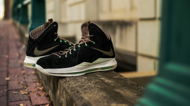 NIKE LEBRON X EXT QS BLACK-MINT