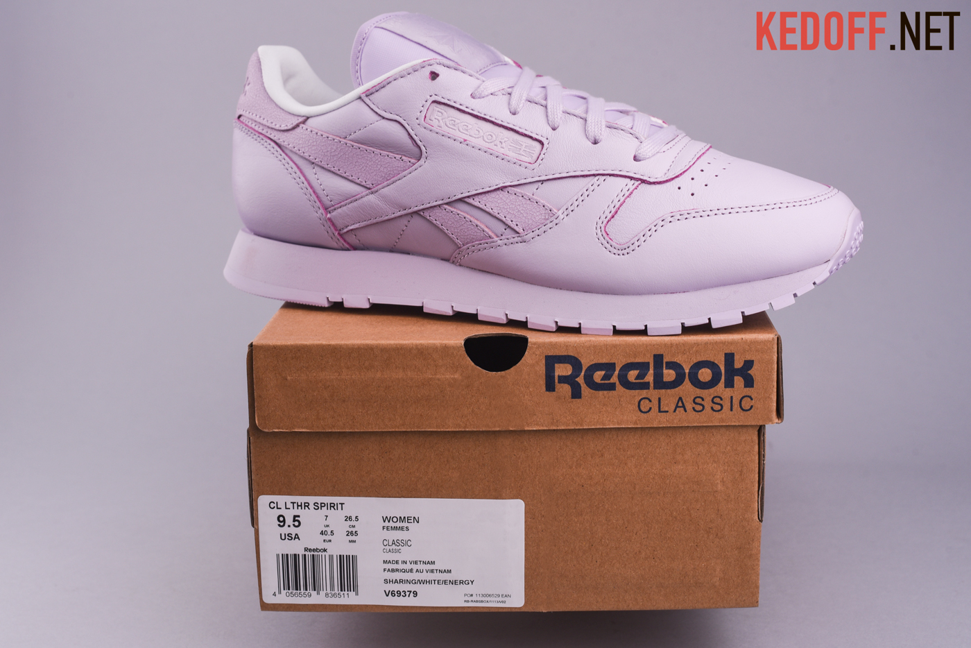 Кроссовки Reebok Classic Leather Face Stockholm V69379