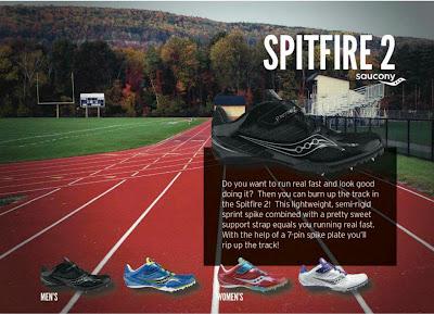 saucony spitfire2